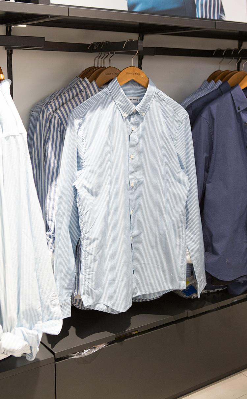 코튼 포플린 셔츠