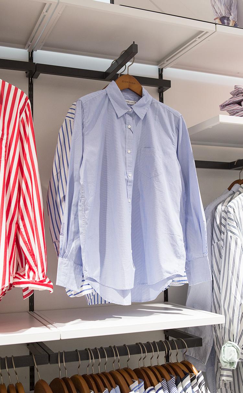 코튼 포플린 롱슬리브 셔츠