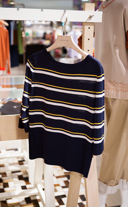 스트라이프 스웨터