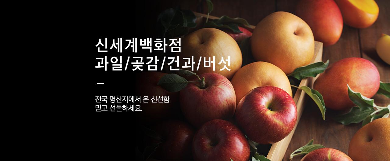 과일/곶감/건과/버섯