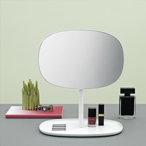 [상품]플립 거울 white