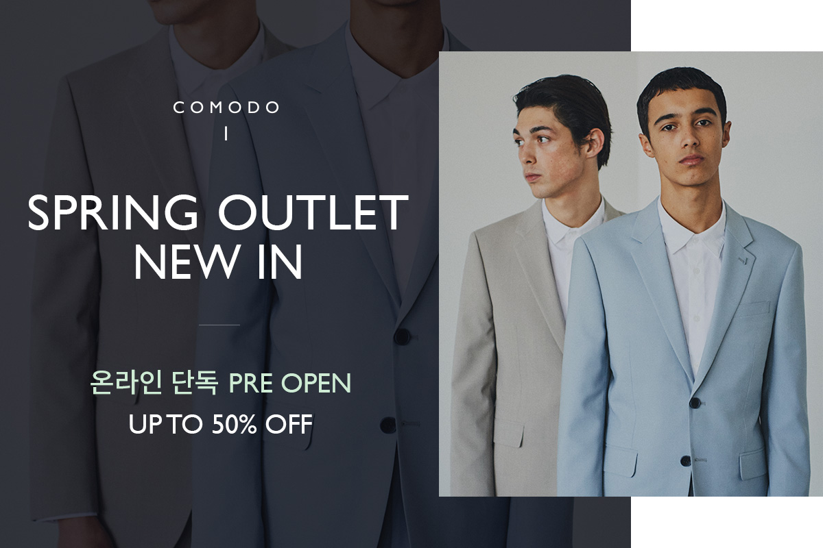 [COMODO] SPRING OUTLET NEW IN