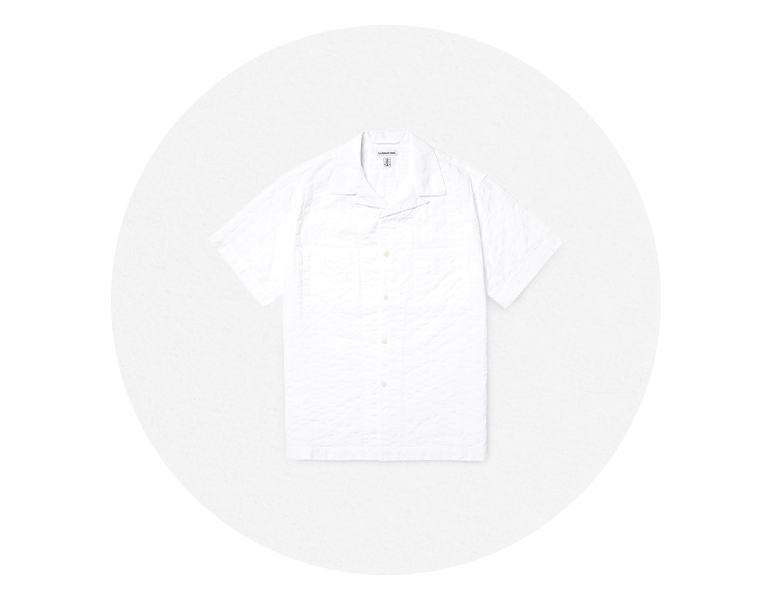 EAST HARBOUR SURPLUS MIAMI CAMP SHIRTS WHITE