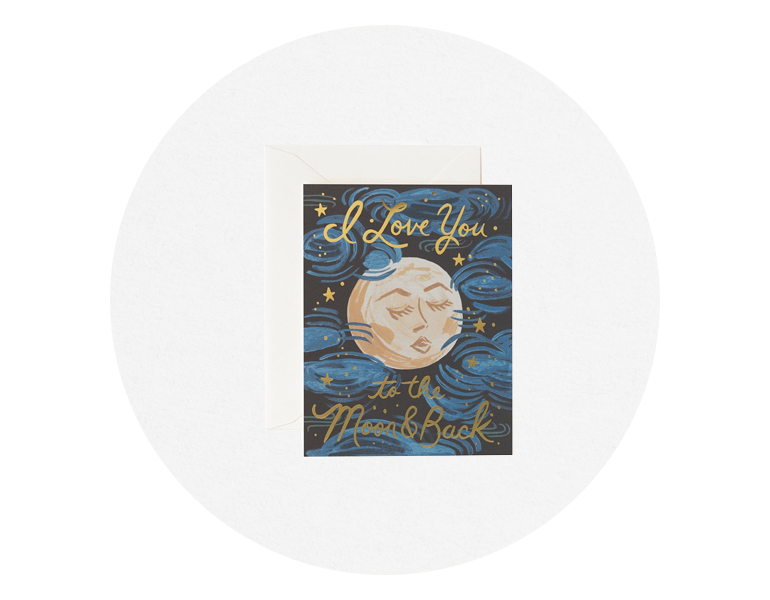 TO THE MOON BACK CARD