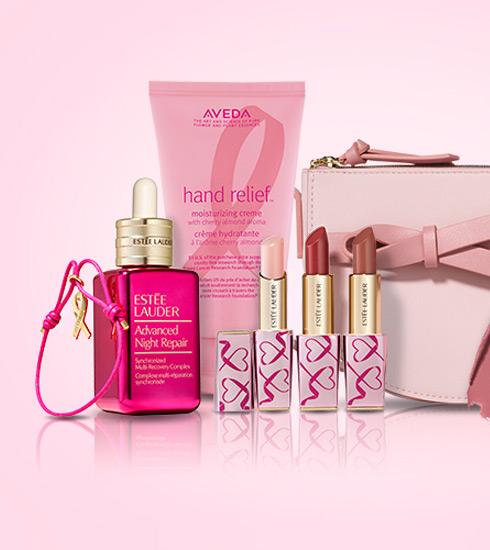 에스티 로더 컴퍼니즈  유방암 캠페인