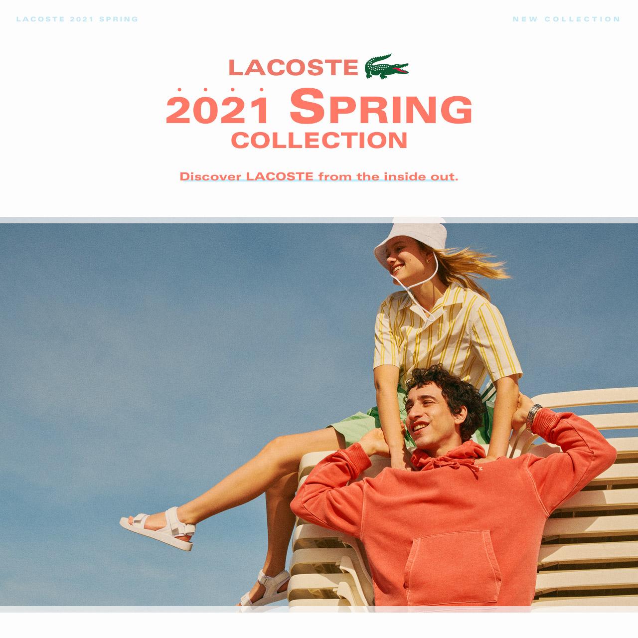 라코스테 21 SPRING&SUMMER