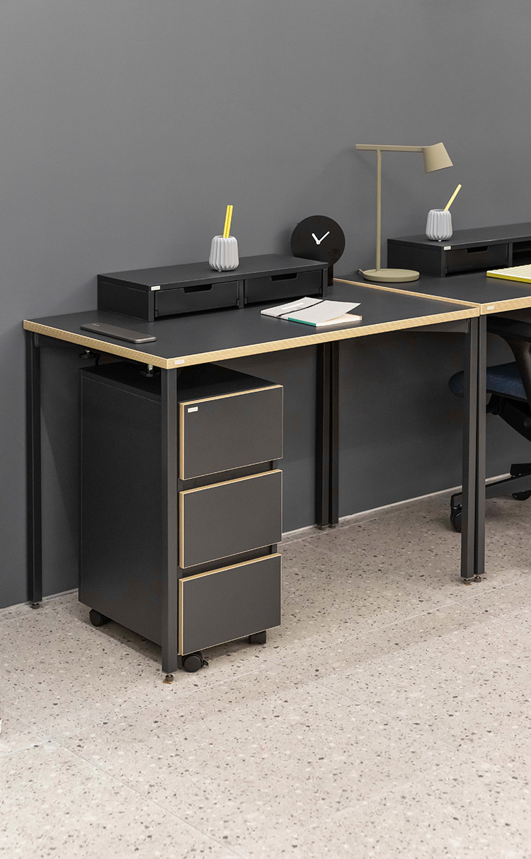 데스커 1인 노트북 책상