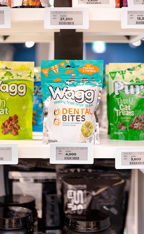[Wagg] 덴탈 바이트 100g - 강아지 입냄새 제거