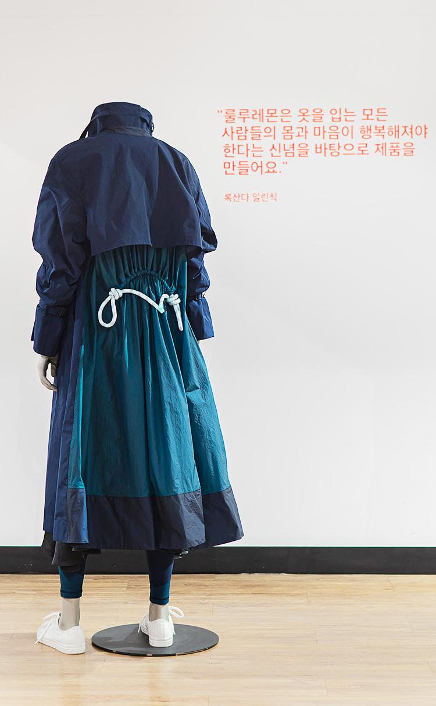 [Roksanda x lululemon] 페이스 포워드 트렌치 코트 - BLK