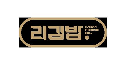 리김밥 로고