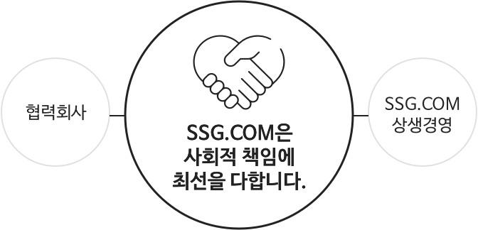 SSG.COM은 사회적 책임에 최선을 다합니다.